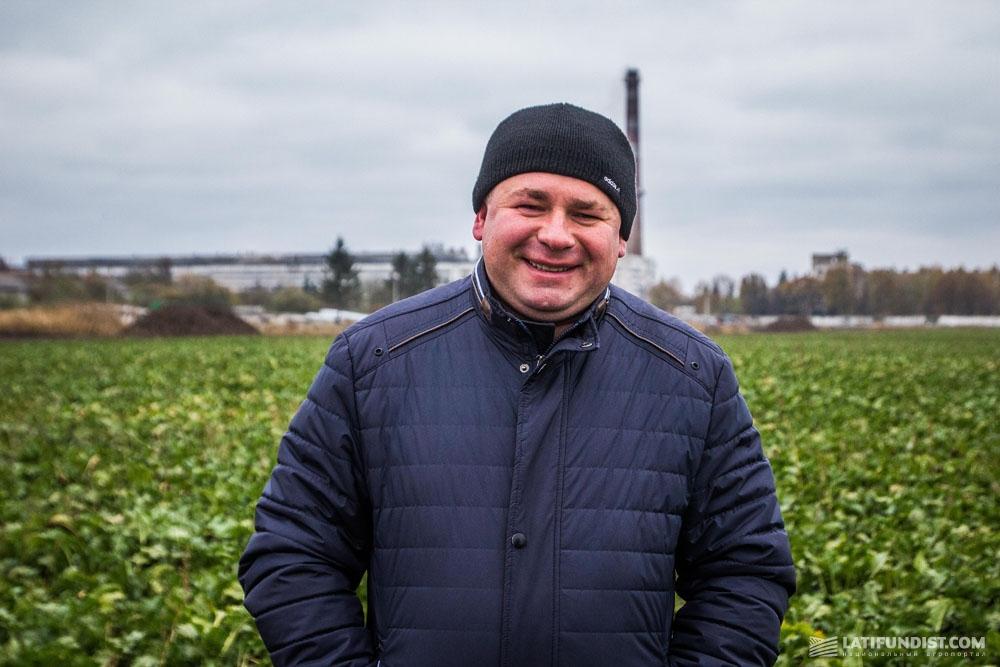 Владимир Никитчук, агроном компании «Украина 2001»